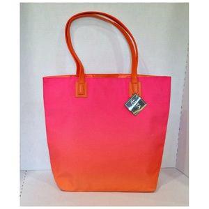 NWT Ombre Sunrise Ulta Beauty Shopping Tote Bag
